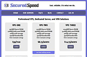SecuredSpeed – $3.25/month 250MB OpenVZ VPS in Los Angeles