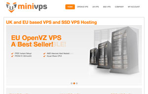 MiniVPS – $3.23/Month 256MB OpenVZ SSD VPS in France