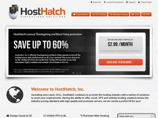 HostHatch – $13.80/Year 128MB OpenVZ SSD VPS in the Netherlands