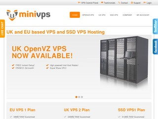 MiniVPS – $7/$6/Month 1GB OpenVZ VPS in Maidenhead, Manchester & France