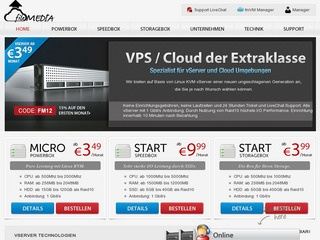 fileMEDIA – €3.99 512MB SSD KVM in Frankfurt, Germany