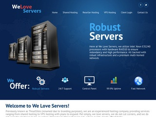 WeLoveServers – $19/Year 1GB OpenVZ in Buffalo, Dallas, LA, Kent (UK) and Orlando