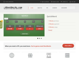 RootNerds – €1.99/month or $2.61/month 1GB OpenVZ VPS in Frankfurt, Germany