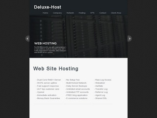 Deluxe-Host – $6/month 512MB OpenVZ VPS in Kent, Washington, USA
