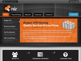 Iniz – £2.75/Month 1024MB OpenVZ VPS in Buffalo, Chicago, LA & Netherlands