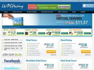 LVPSHosting – $6.99 512MB vSwap OpenVZ VPS in Albasserdam, Netherlands