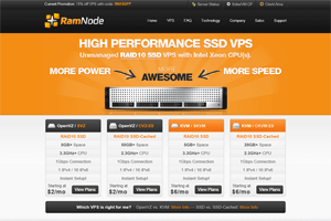 RamNode – $3.48/Month 256MB SSD KVM VPS in Atlanta, Seattle and Netherlands